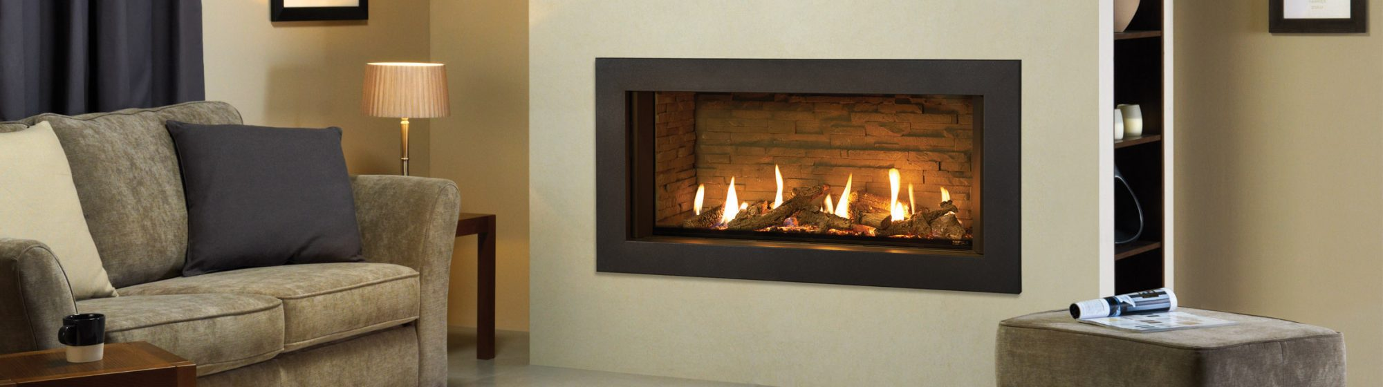 Gas Fire Header