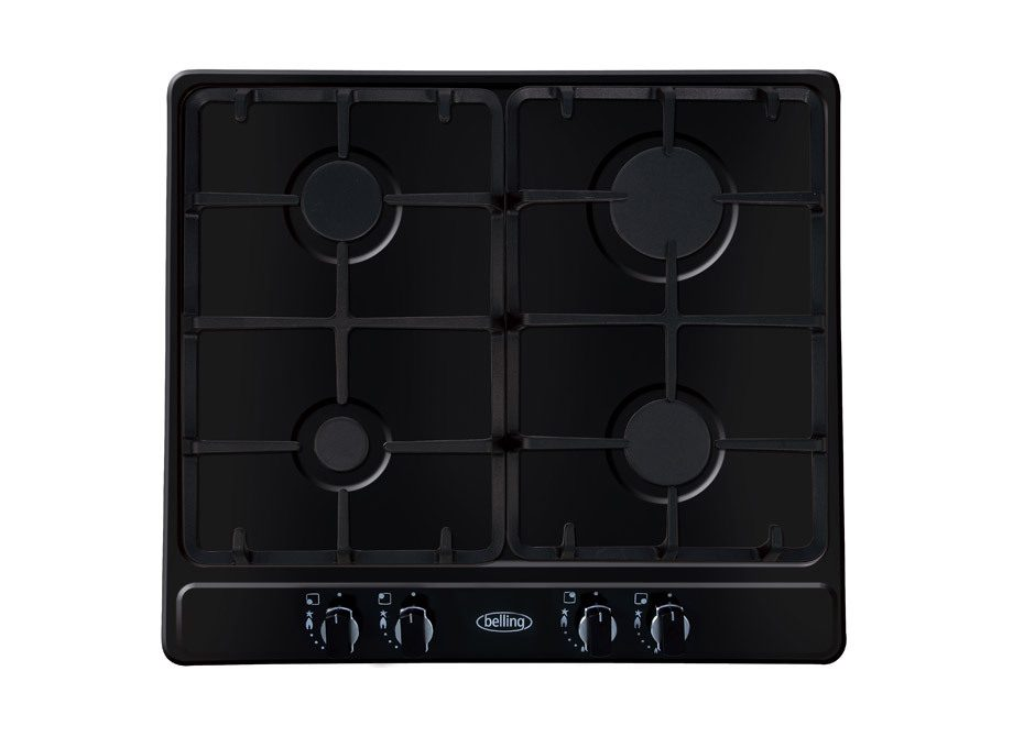 Belling 60Cm Gas Hob With Cast Iron Pan Supports