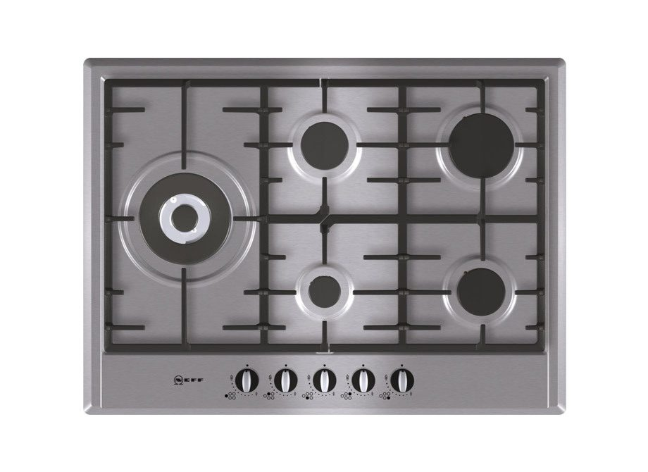 Neff Series 1 70Cm Gas Hob In Stainless Steel