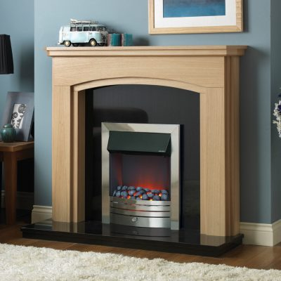 Auckland Natural Oak Mantel