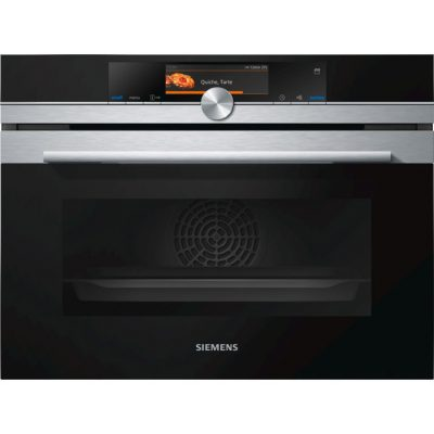 Siemens Full Steam Combination Pyrolytic Stainless Steel Oven With Roasting And Baking Sensors