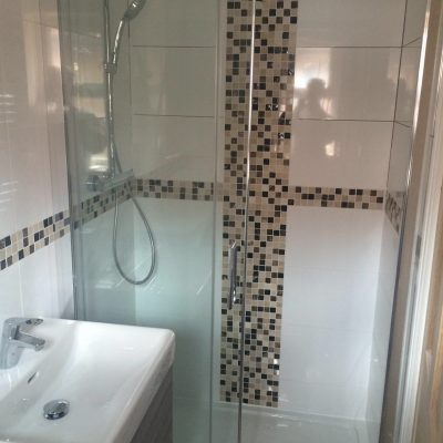 Tiled Shower Room