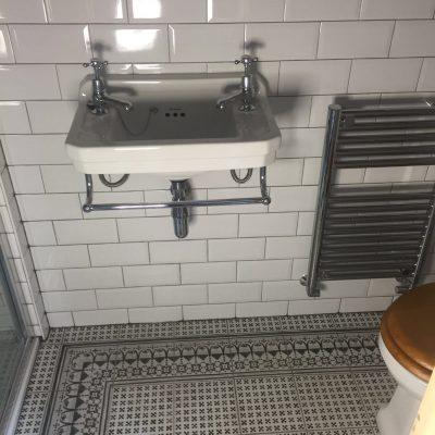 Tiled Sink