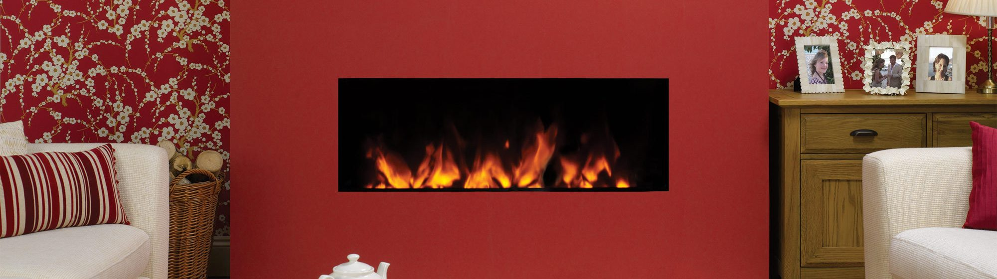 Electic Fire Header