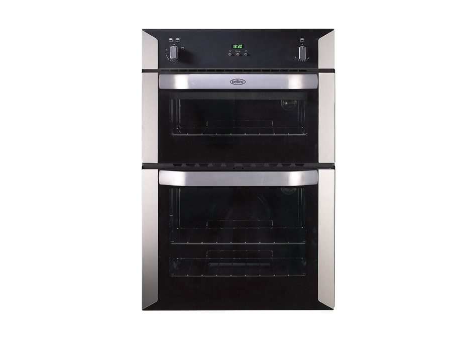 Belling 90Cm Built In Gas Double Oven With Cook To Off Timer