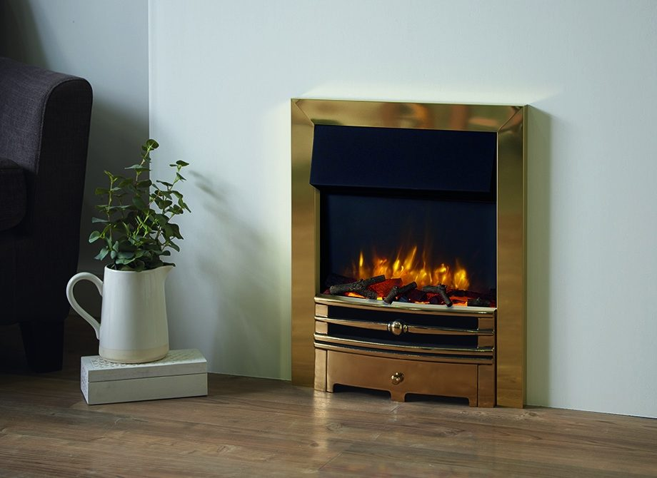 Logic2 Electric Chartwell With Brass Frame And Front