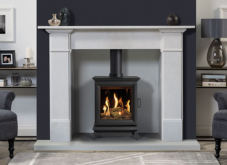 Sheraton Gas With Claremont Mantel